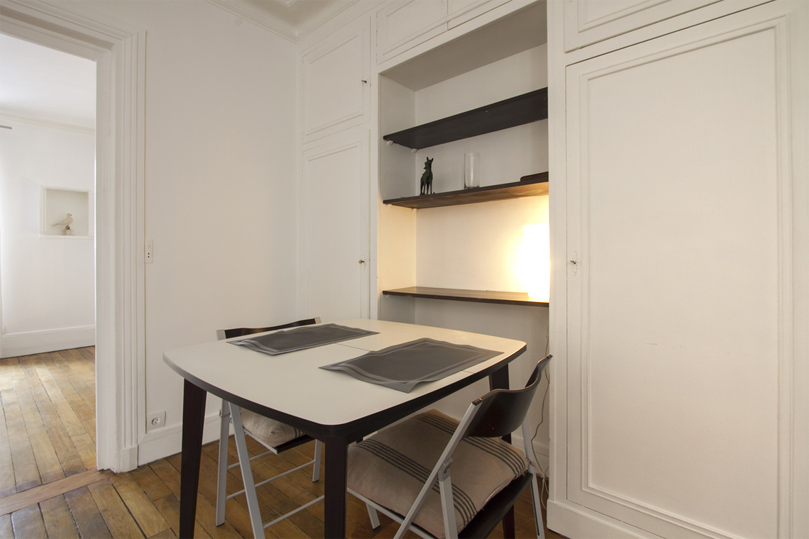 Appartement Paris Rue Duvivier 4