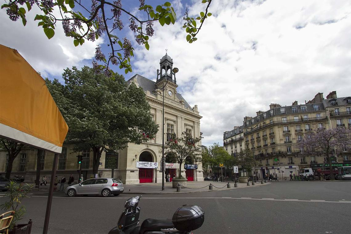 Квартира Paris Avenue Gambetta 12