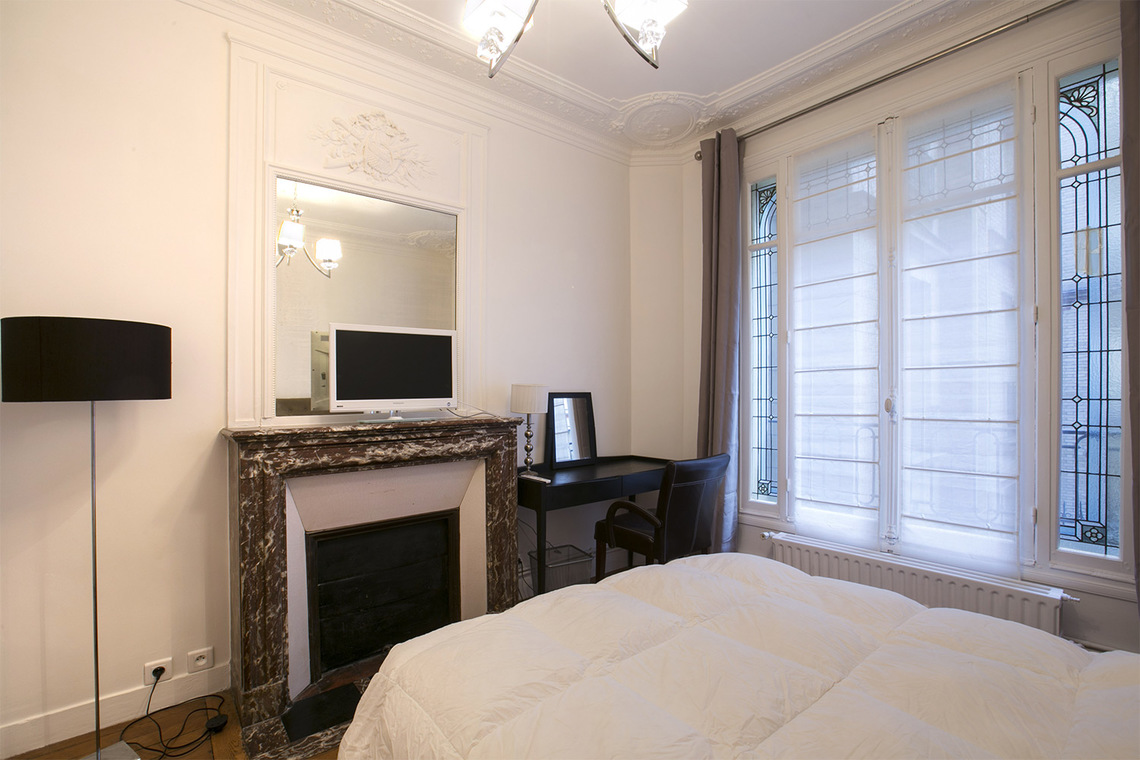 Apartamento Paris Rue Faraday 11