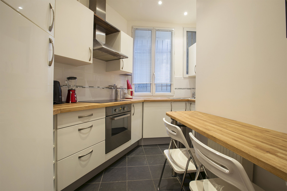 Apartamento Paris Rue Faraday 5