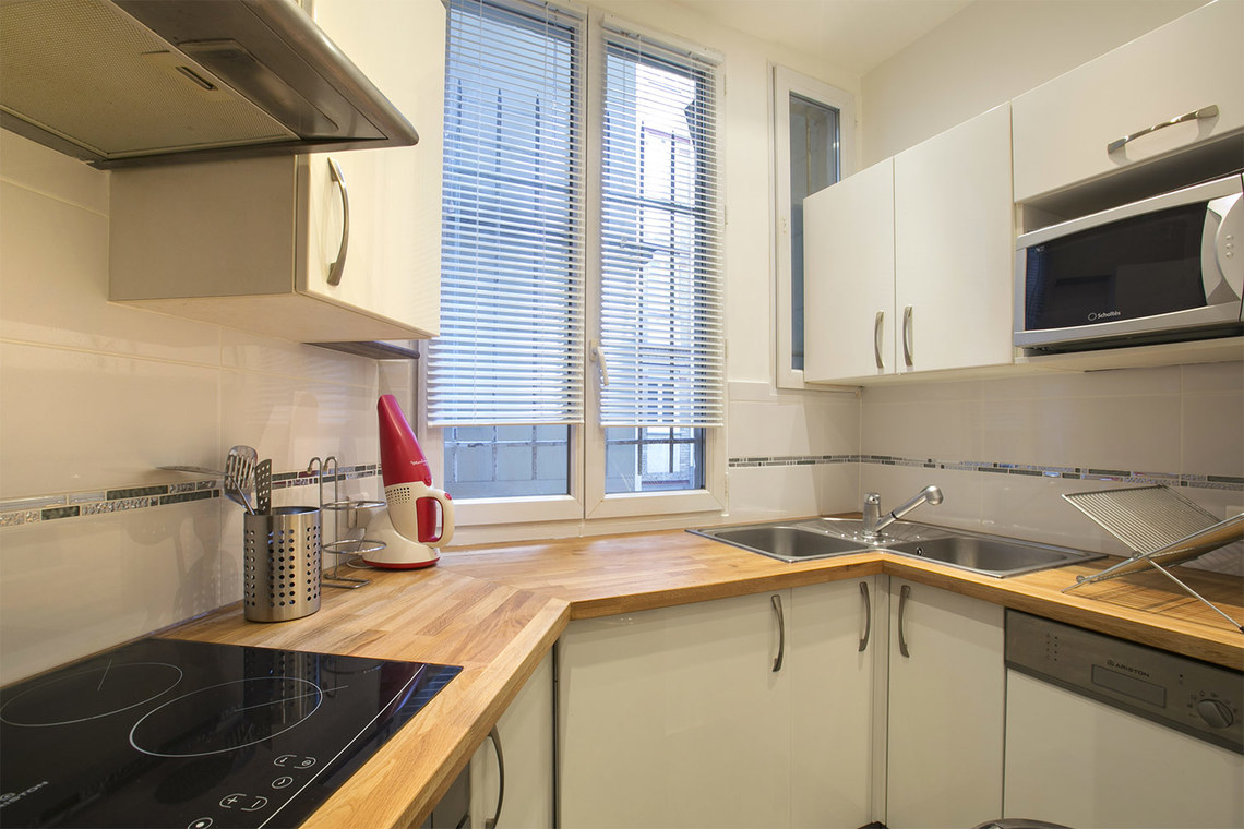 Apartamento Paris Rue Faraday 6