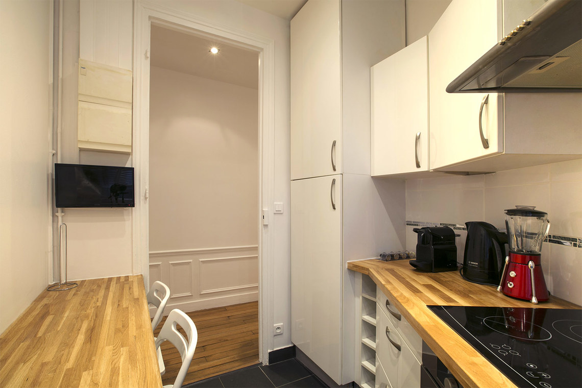 Apartamento Paris Rue Faraday 7