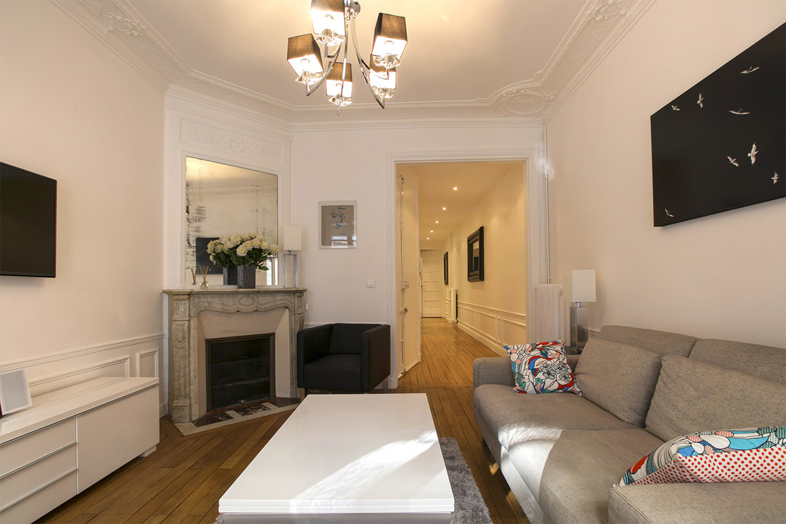 Apartamento Paris Rue Faraday 4