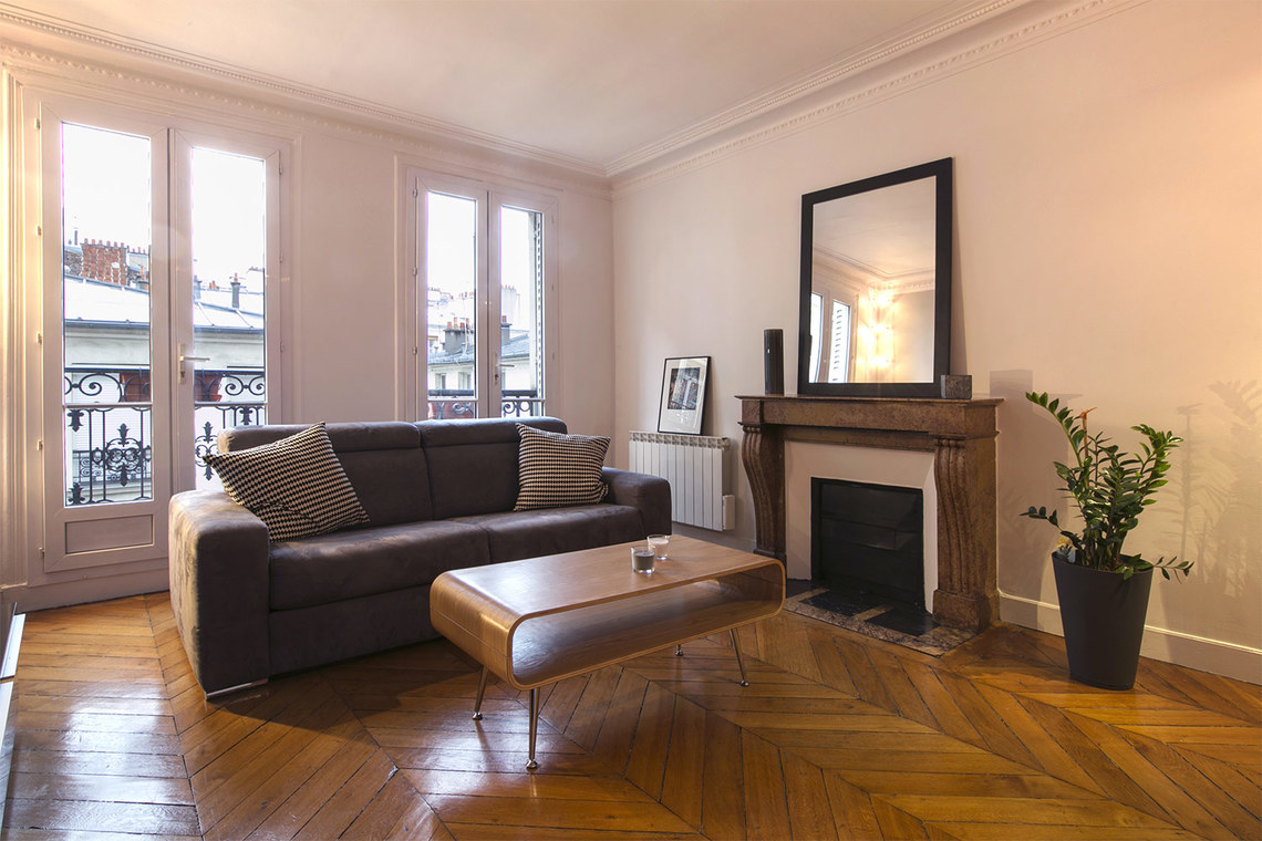 Furnished apartment for rent Paris Rue Rodier