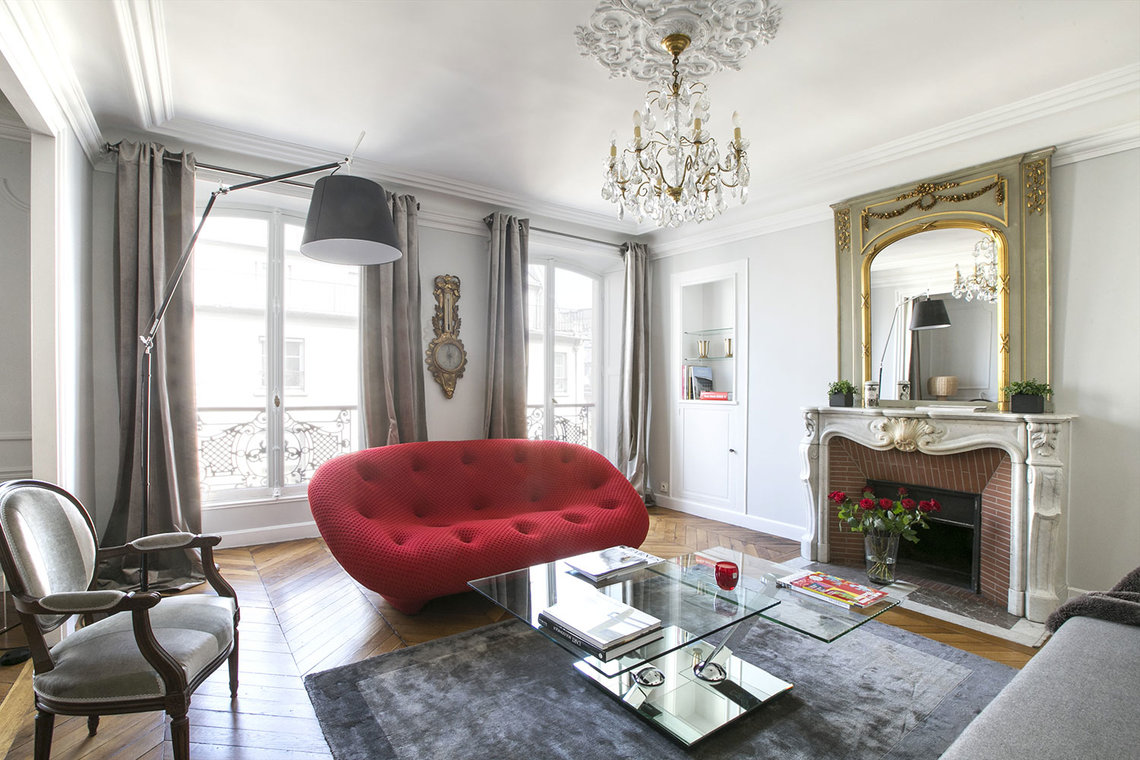 Furnished apartment for rent Paris Rue du Faubourg Montmartre