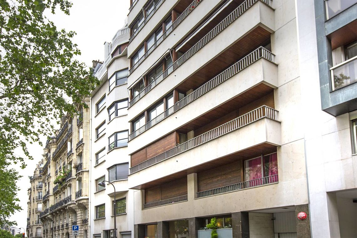 Appartement Paris Boulevard Flandrin 14
