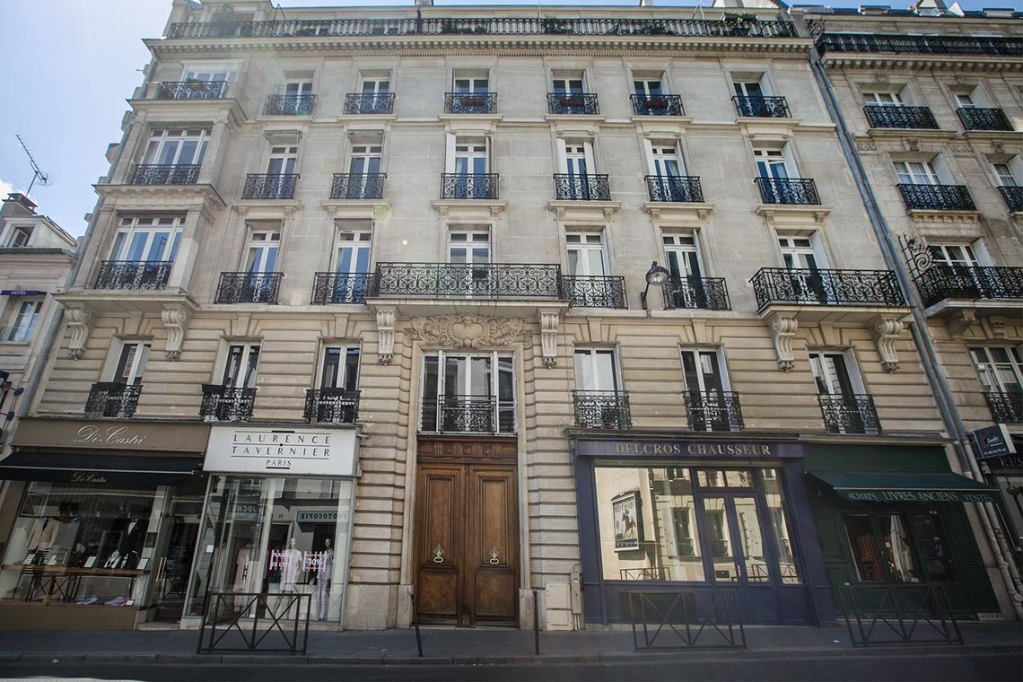 Квартира Paris Rue Benjamin Franklin 20
