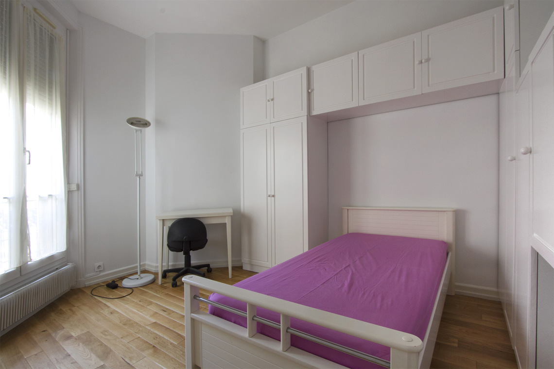 Appartement Paris Rue Chernoviz 12