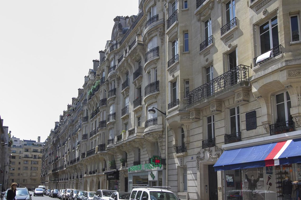 Appartement Paris Rue Chernoviz 17