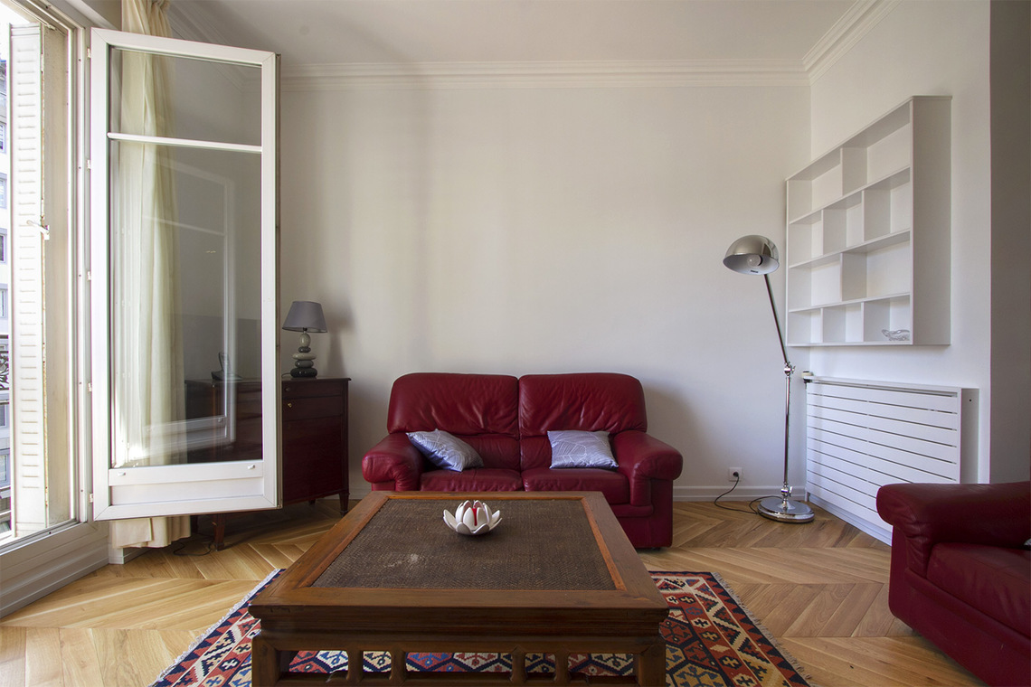 Appartement Paris Rue Chernoviz 3