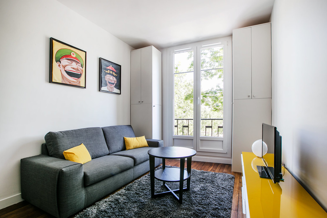 Furnished apartment for rent Paris Rue Gros