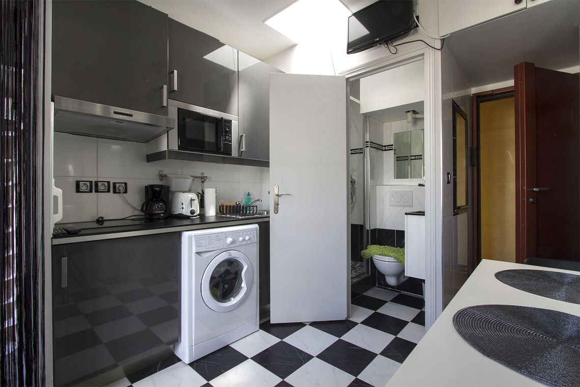 Appartement Paris Rue Mignard 6