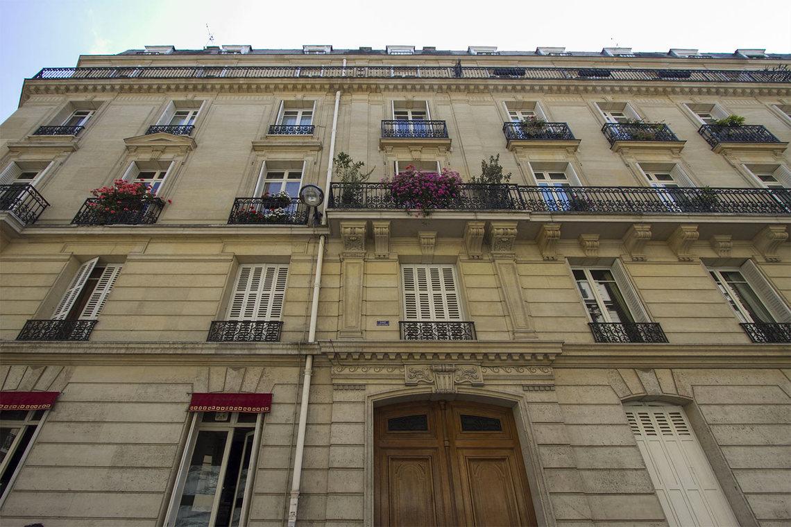 Appartement Paris Rue Mignard 10