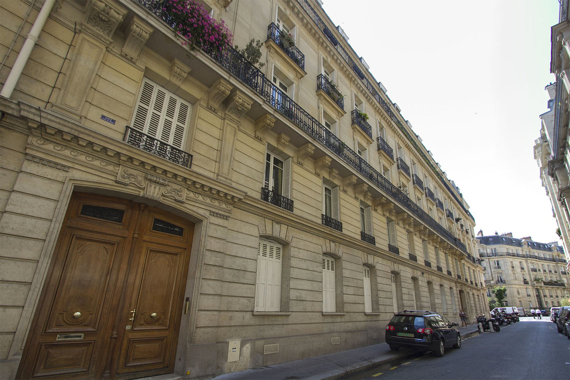 Appartement Paris Rue Mignard 11