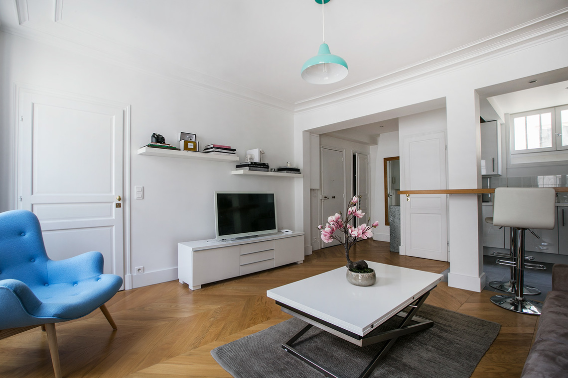 Appartement Paris Rue d'Alger 2