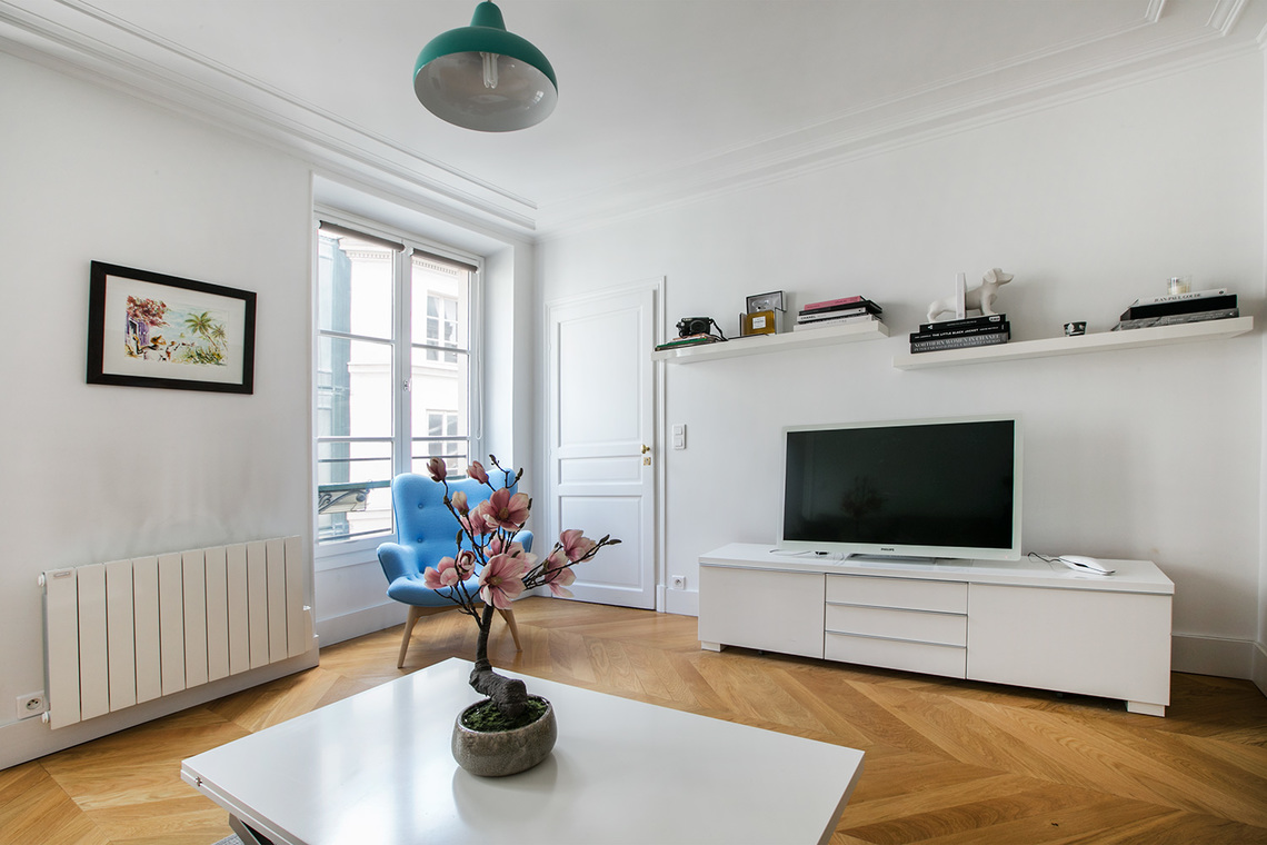 Appartement Paris Rue d'Alger 3