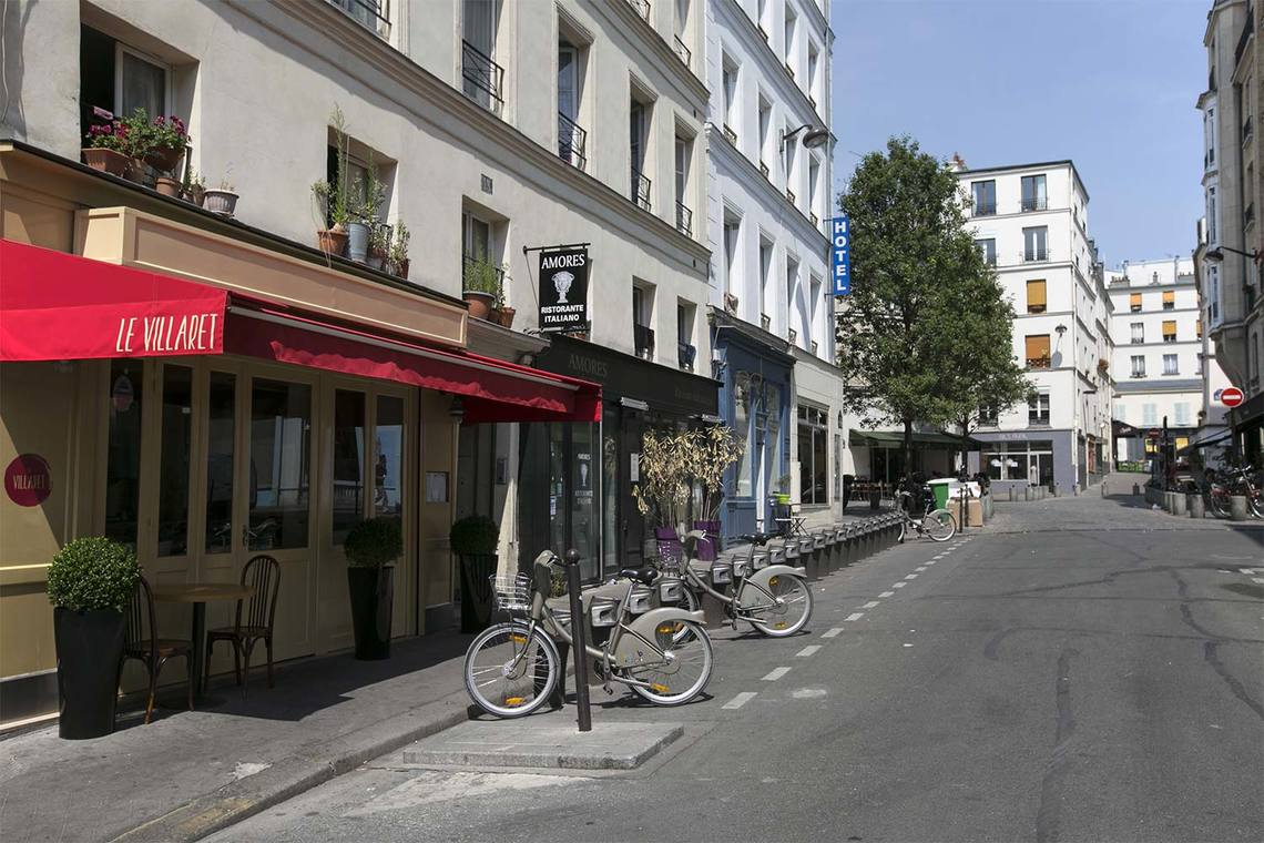 Appartamento Paris Rue de la Folie Méricourt 16