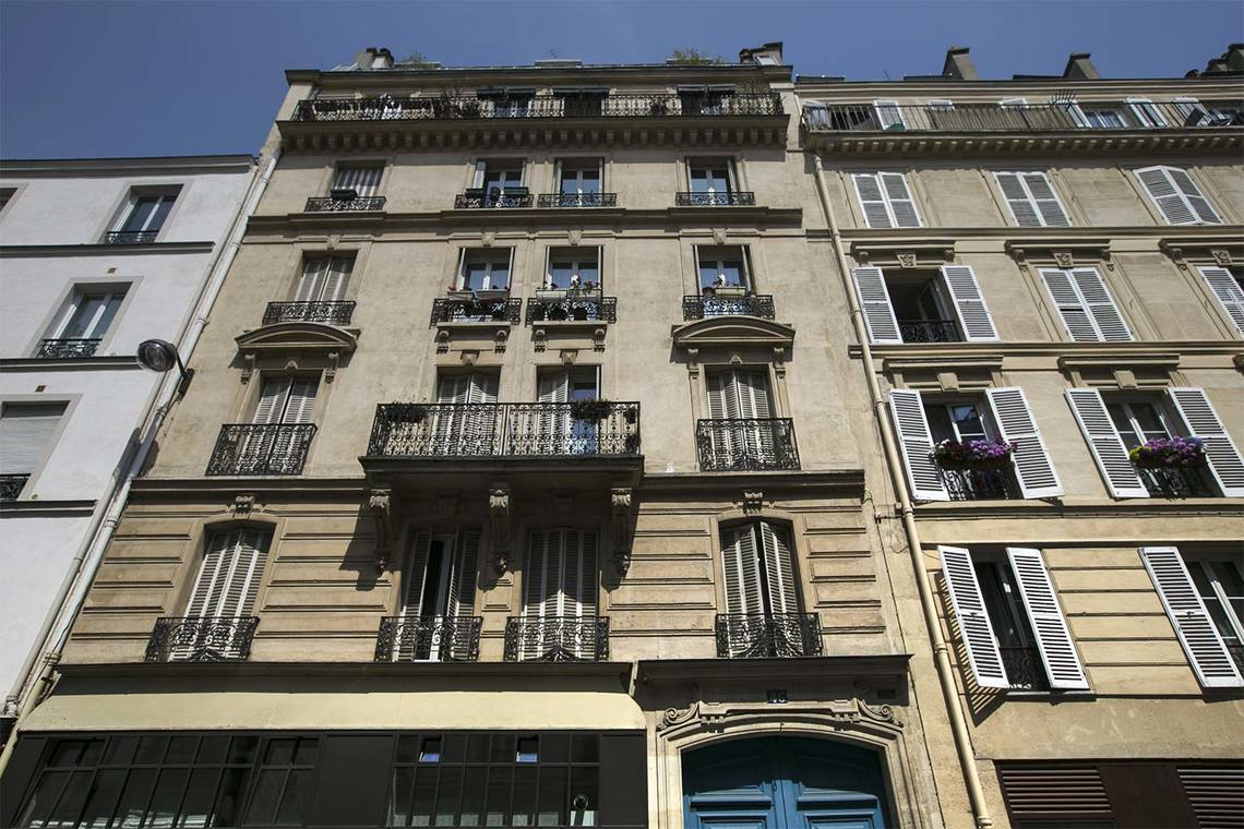 Appartamento Paris Rue de la Folie Méricourt 15