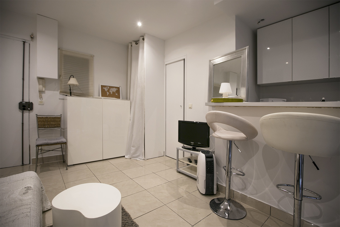 Appartement Paris Rue Custine 5