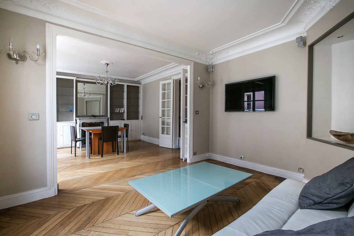 Furnished apartment for rent Paris Rue Jean Mermoz