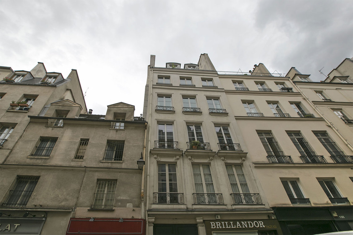 Apartment Paris Rue du Temple 12