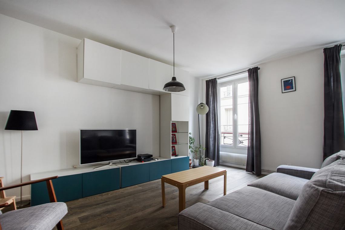 Appartement Paris Rue de Paradis 5
