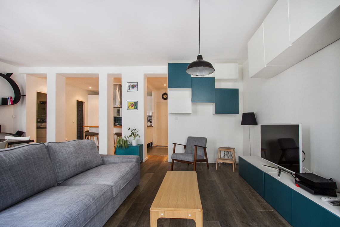 Appartement Paris Rue de Paradis 6