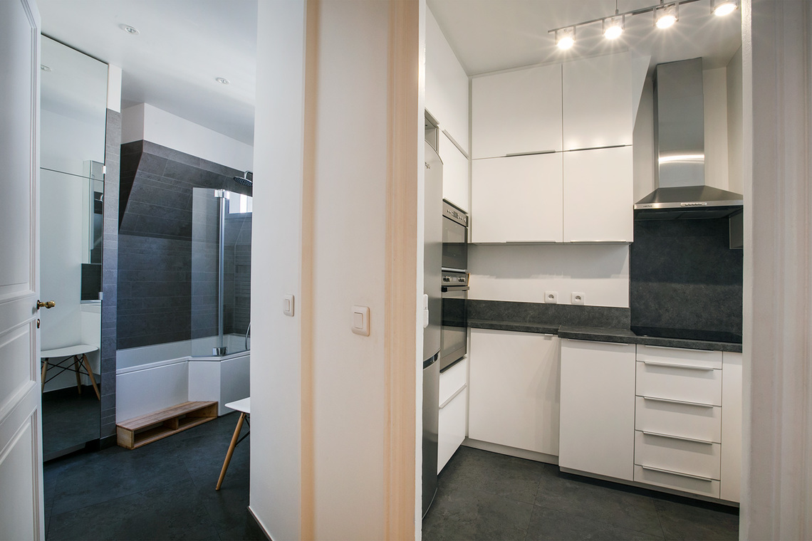 Apartment Paris Rue Troyon 9