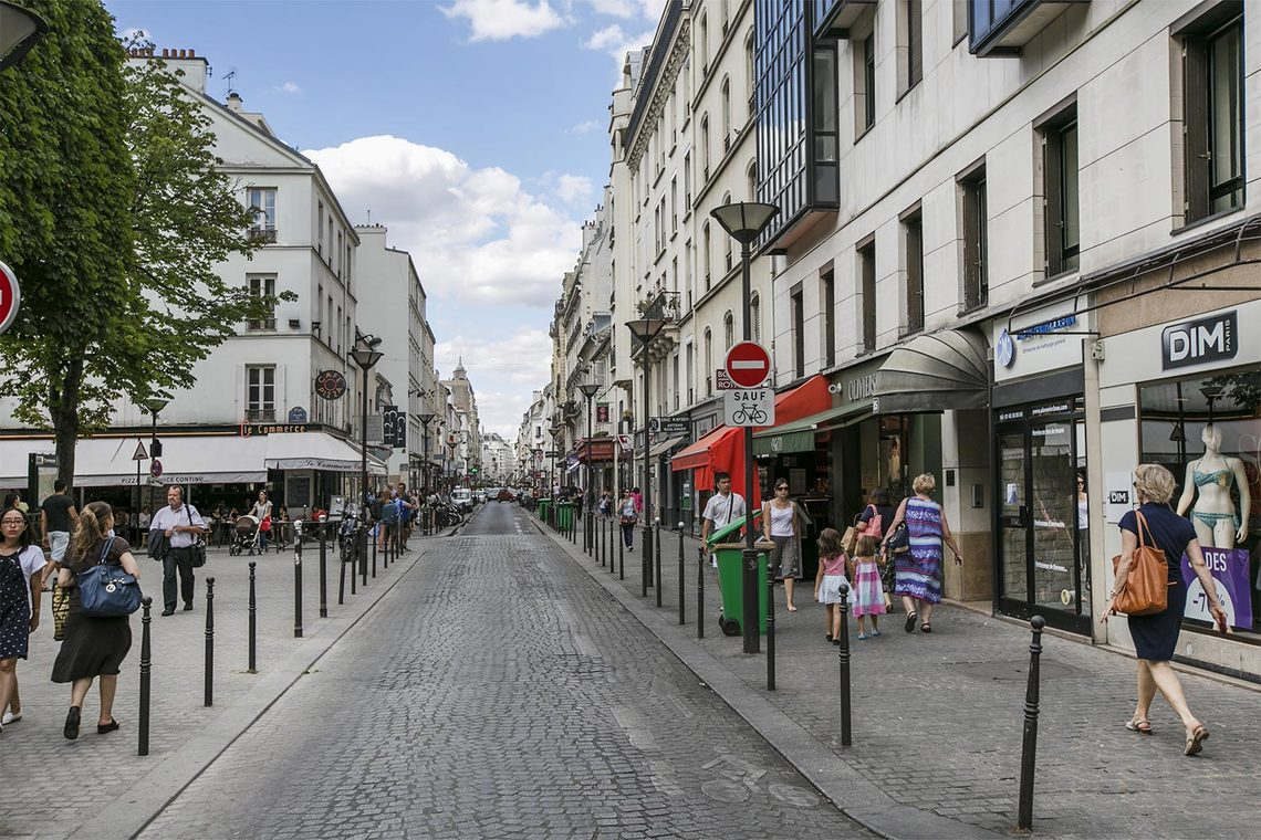 Квартира Paris Rue Carrier Belleuse 12