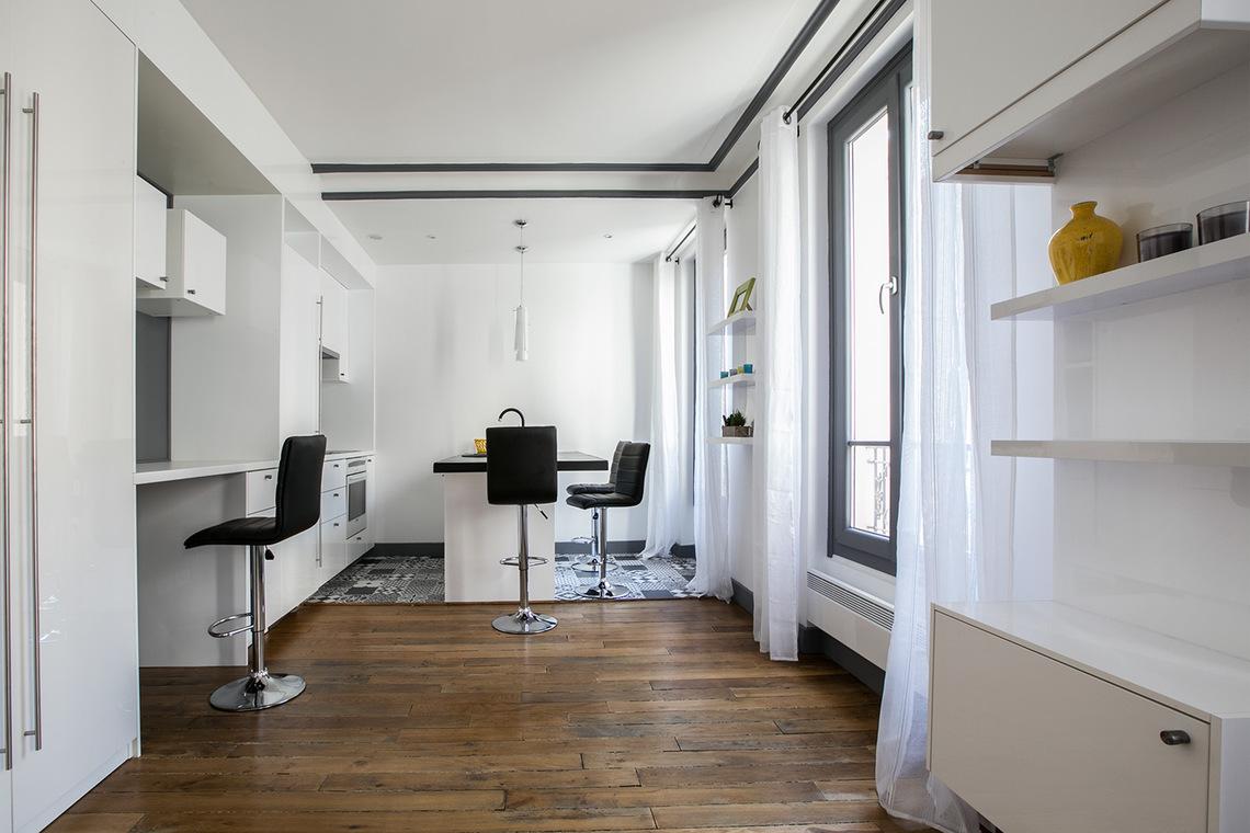 Location appartement meubl villa des sablons neuilly for Salon cuisine paris