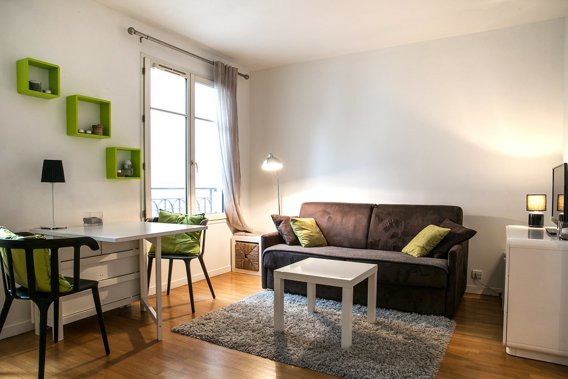 Location Studio Meubl Boulevard Richard Lenoir Paris Ref 12694