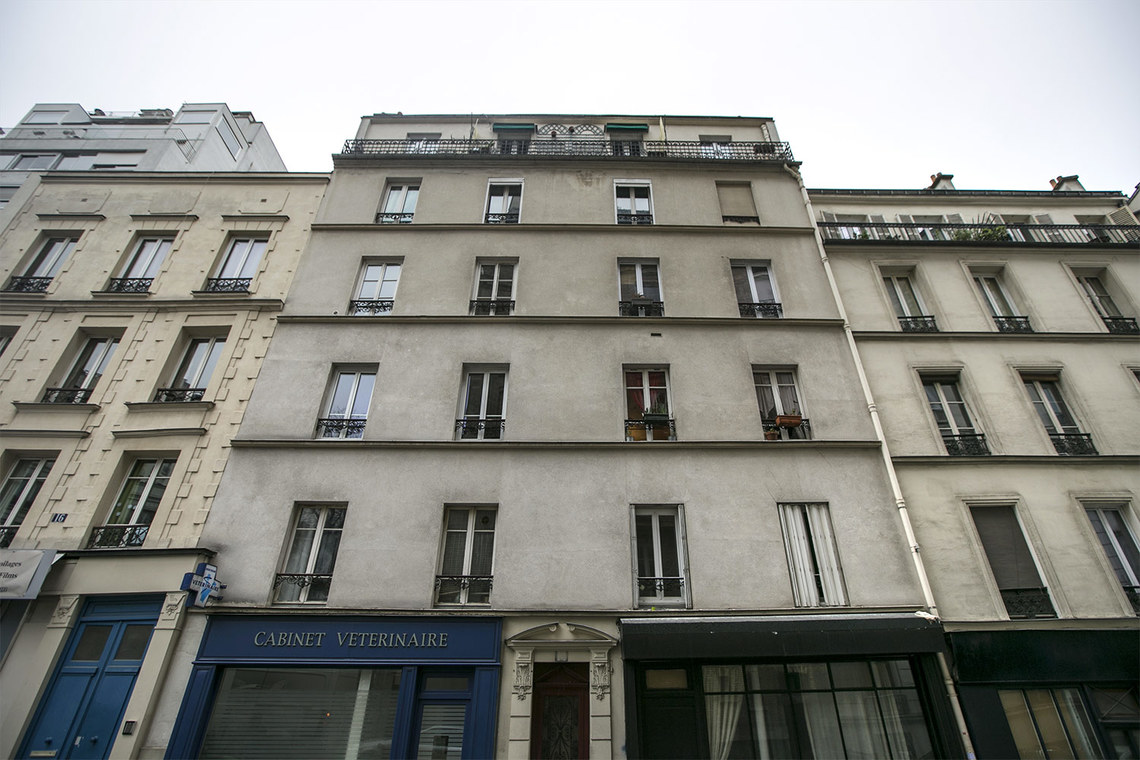 Квартира Paris Rue Lecuyer 9