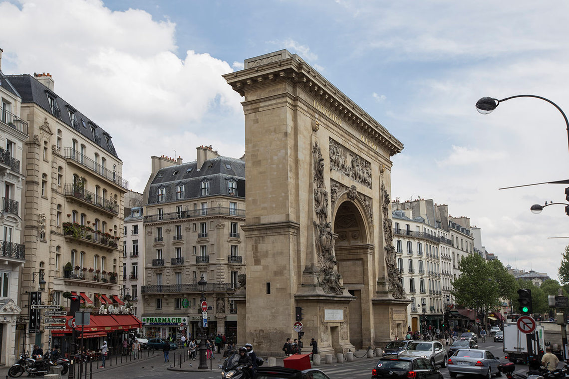 Apartment Paris Rue du Faubourg Saint Martin 17