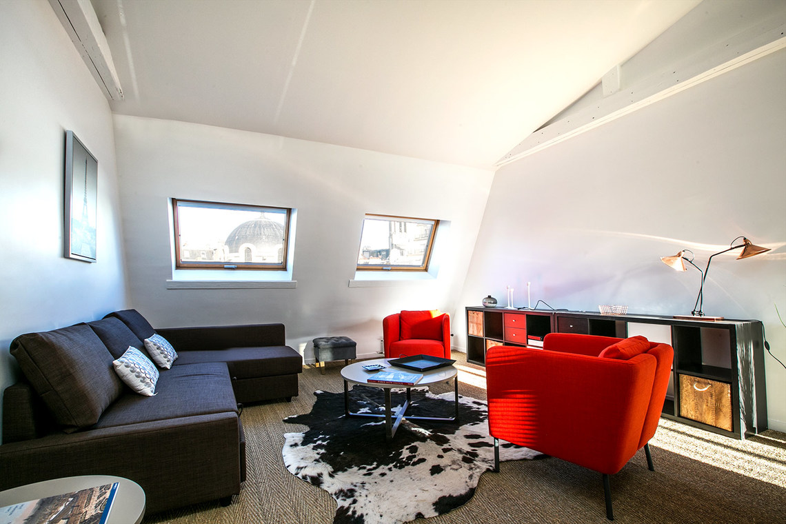 Furnished apartment for rent Paris Rue Goethe