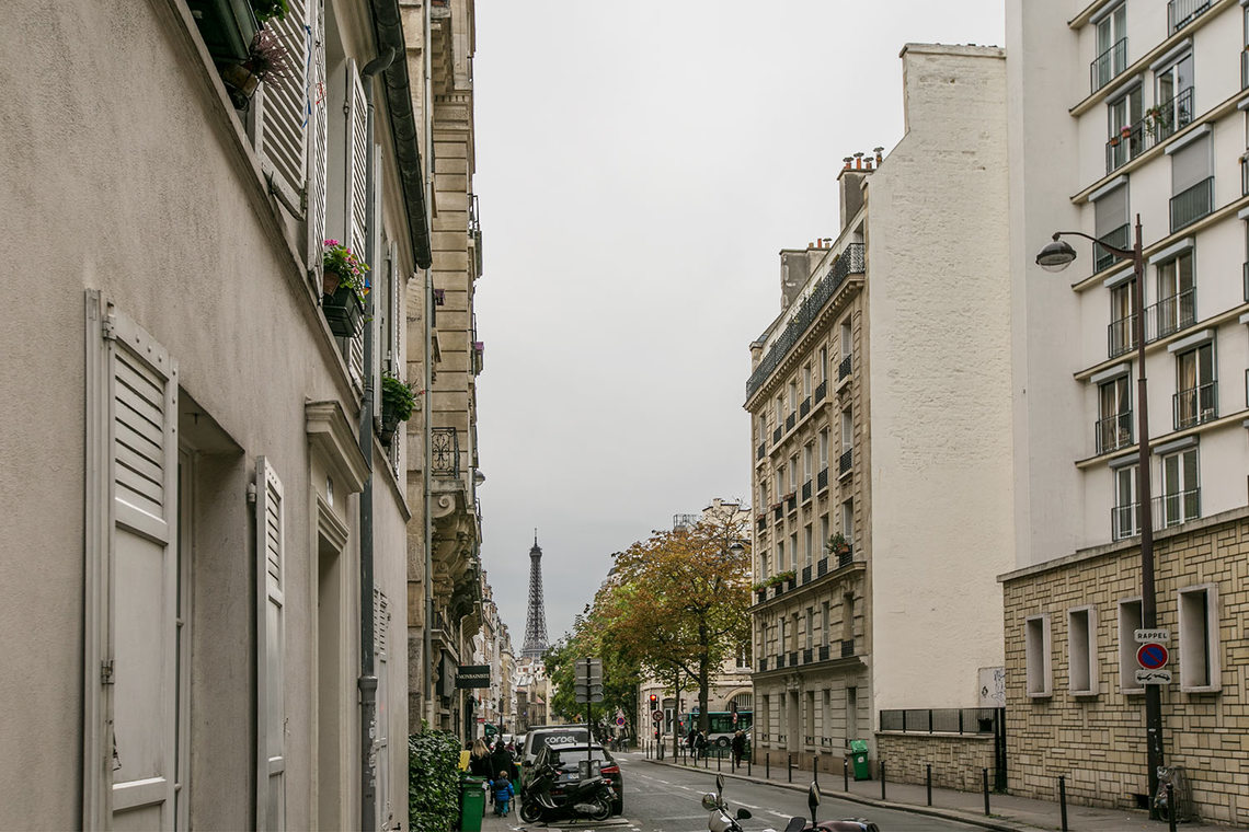 Appartement Paris Rue Petel 20
