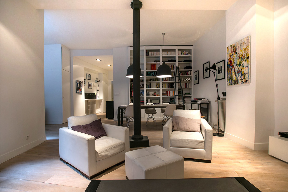 Appartement Paris Rue Petel 5