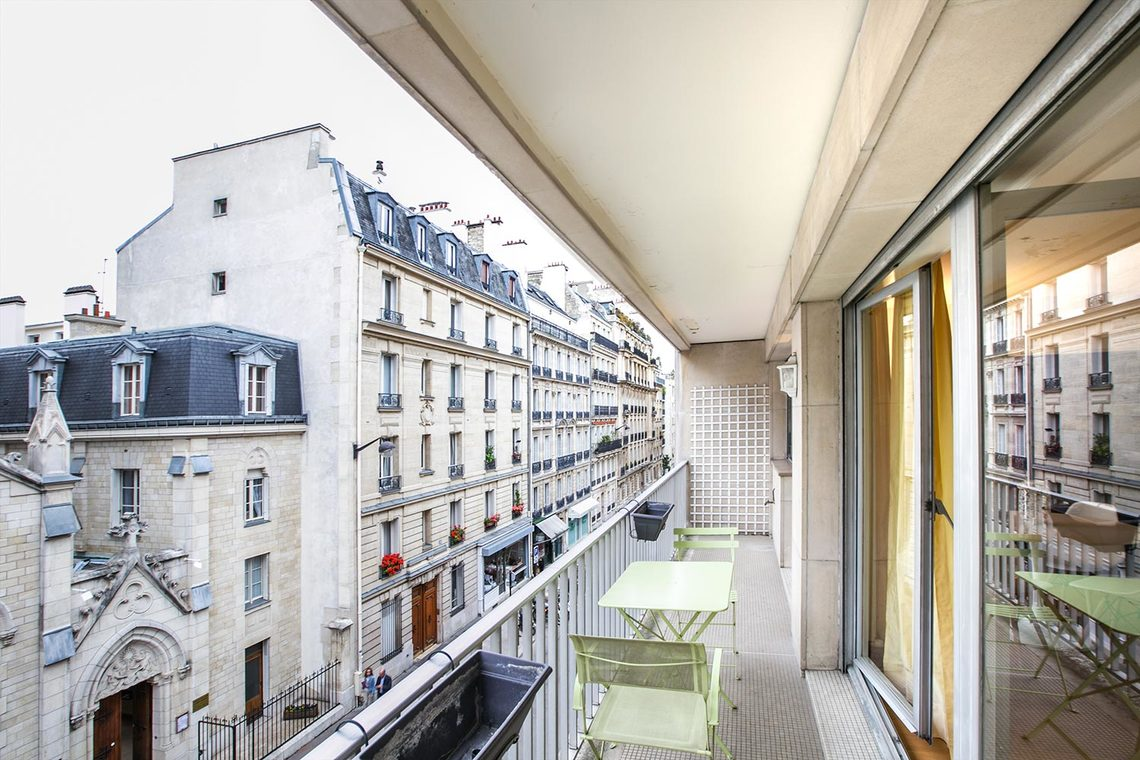 Appartement Paris Rue Cortambert 14