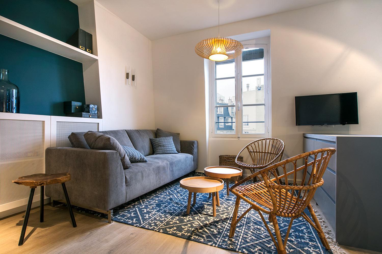 Apartment Neuilly / Seine rue du Bois de Boulogne