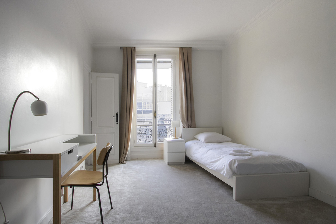 Квартира Paris Boulevard de Courcelles 19