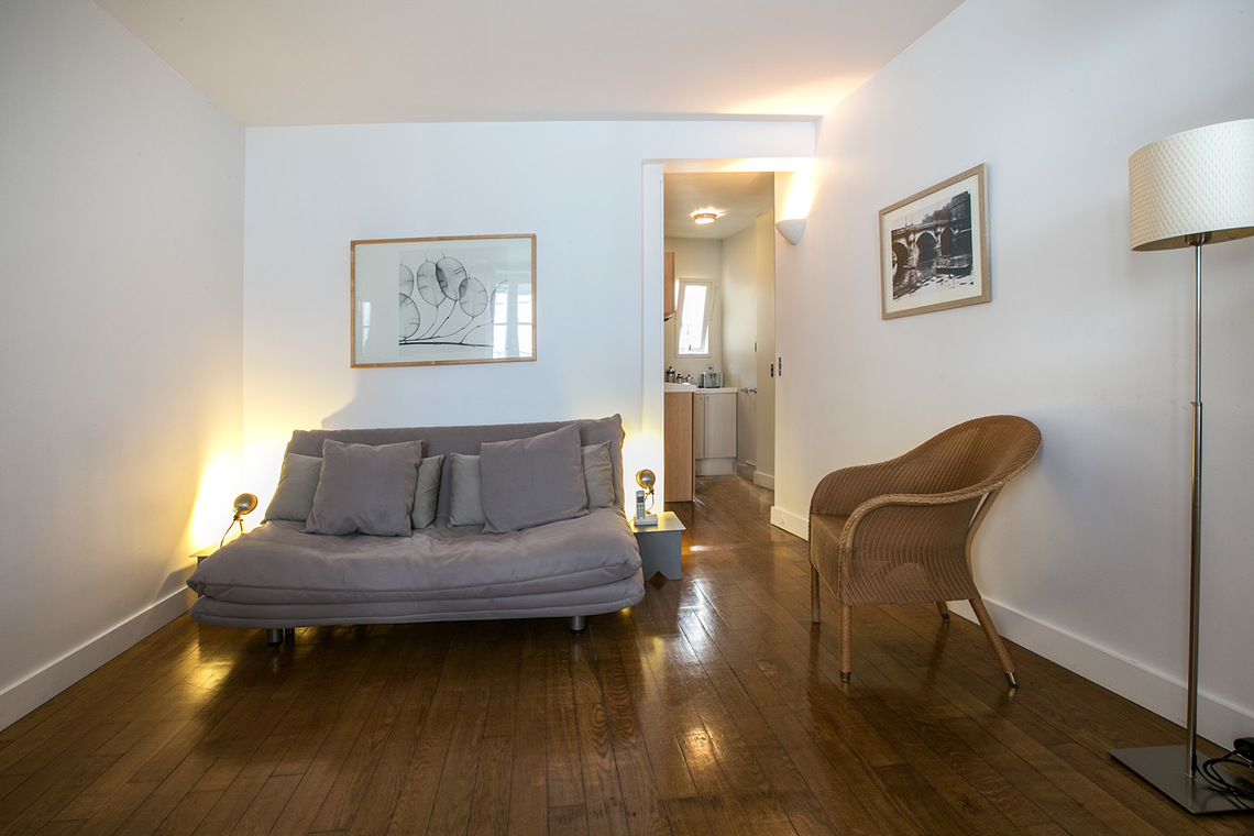 Apartment Paris Rue du Pont Louis-Philippe 3