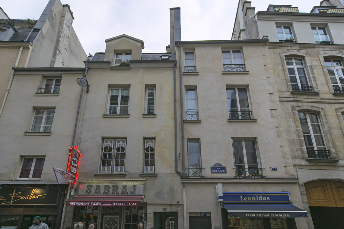 Квартира Paris Rue Saint Jacques 14