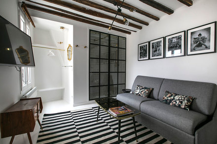 Apartment Paris rue Coq Heron