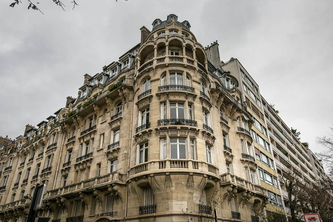 Appartement Paris Rue Louis Boilly 28
