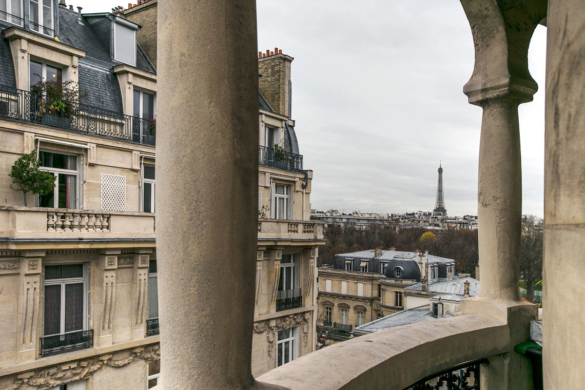 Appartement Paris Rue Louis Boilly 24