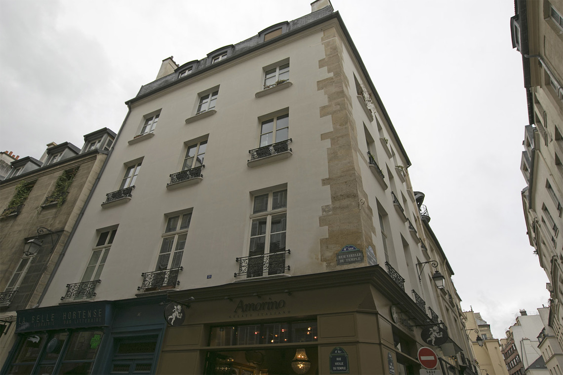 Квартира Paris Rue Vieille du Temple 13