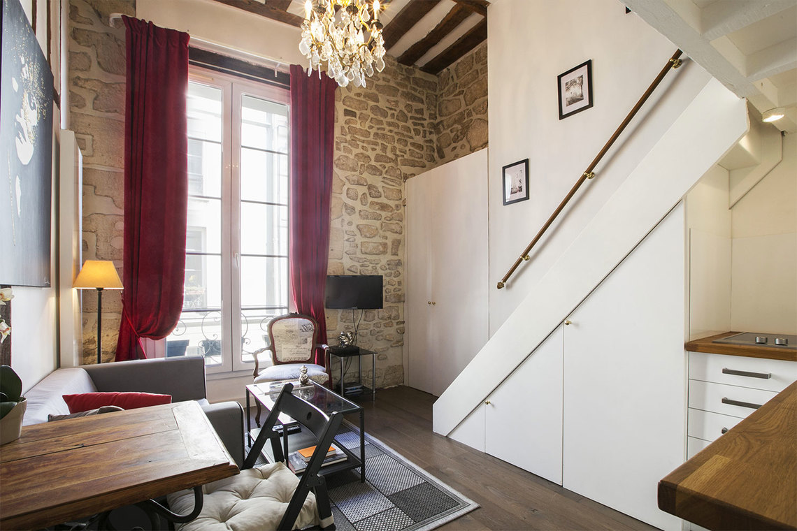 Furnished apartment for rent Paris Rue Pastourelle