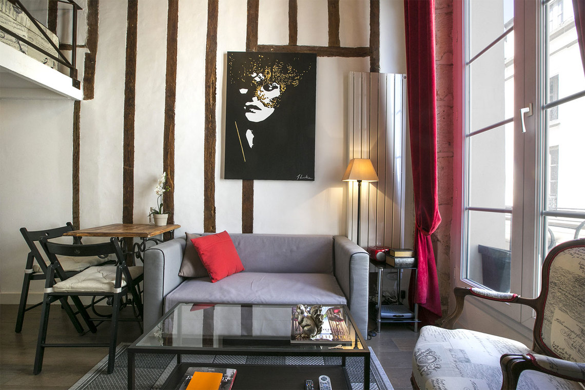 Apartment Paris Rue Pastourelle 3
