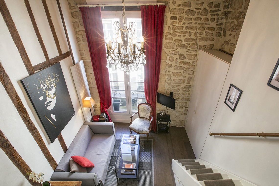 Apartment Paris Rue Pastourelle 2