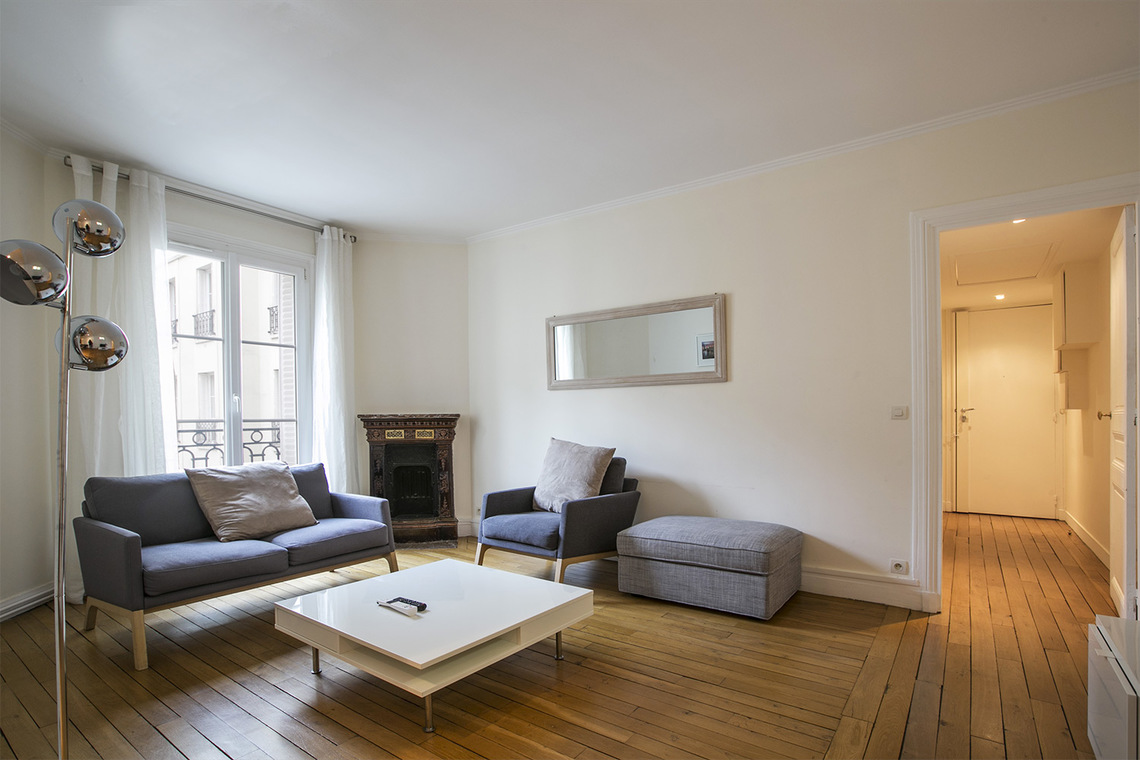 Furnished apartment for rent Paris Rue des Belles Feuilles