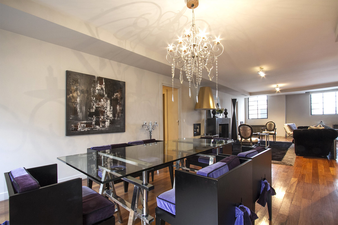 Appartement Paris Rue Lord Byron 4